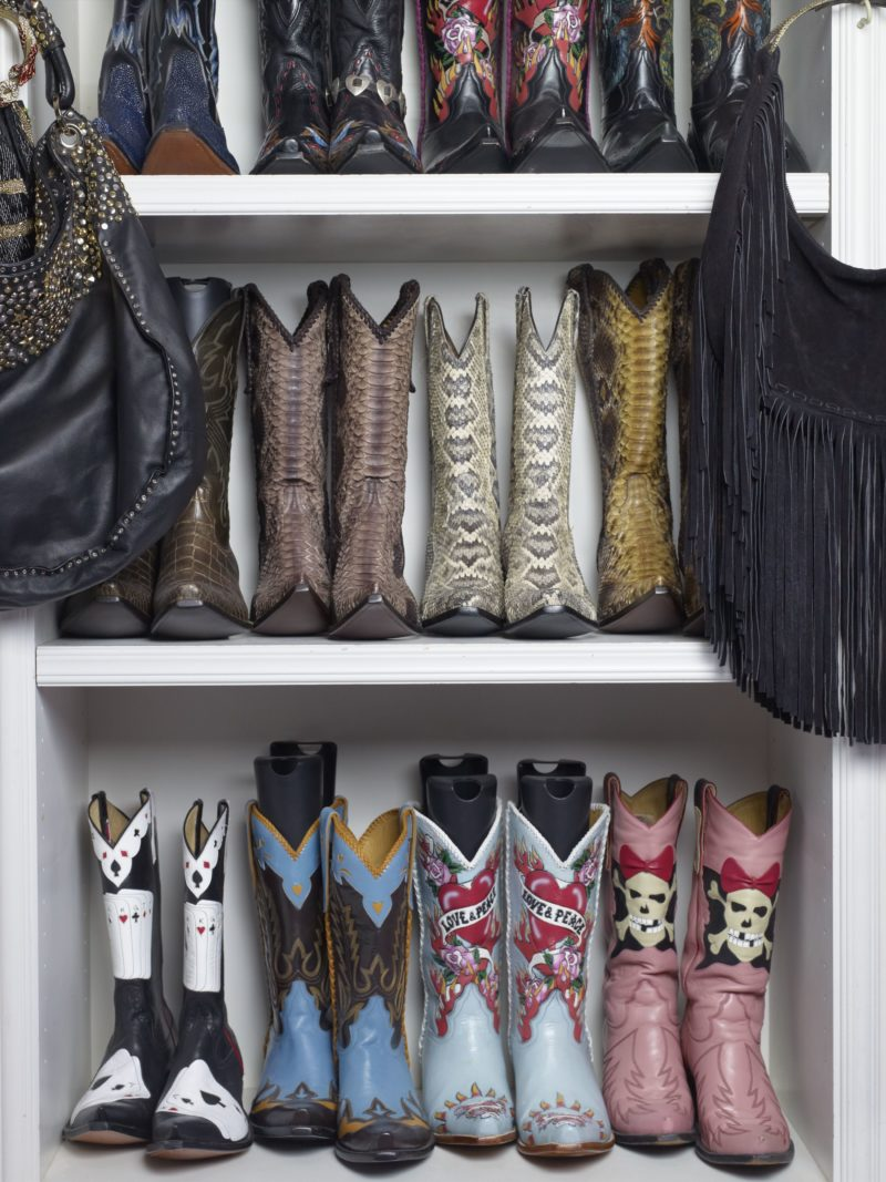 Catherine Opie – Cowboy Boots, from 700 Nimes Road, Elizabeth Taylor's home