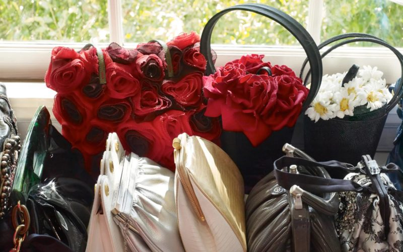 Catherine Opie – Handbags and Roses, from 700 Nimes Road, Elizabeth Taylor's home