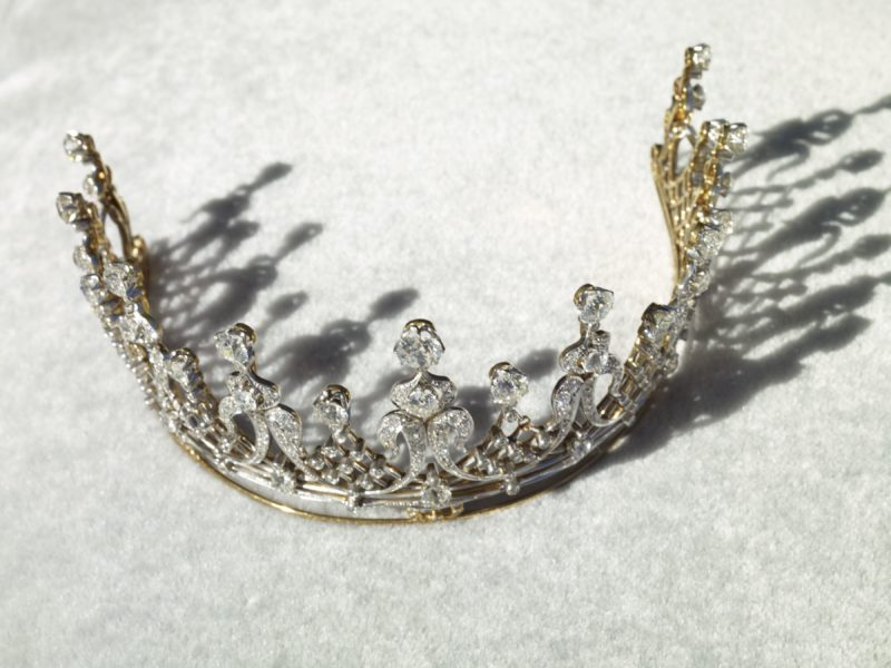 Catherine Opie – Mike Todd, Diamond Tiara, from 700 Nimes Road, Elizabeth Taylor's home