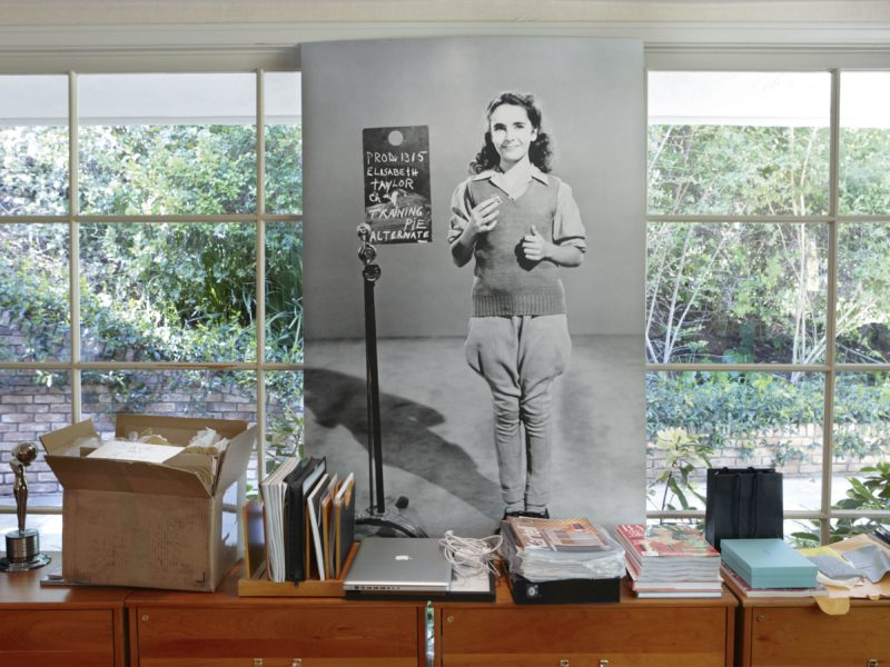 Catherine Opie – National Velvet Costume Test, from 700 Nimes Road, Elizabeth Taylor's home