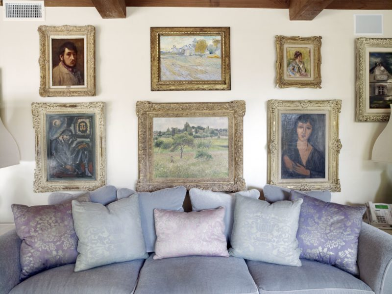 Catherine Opie – Paintings, from 700 Nimes Road, Elizabeth Taylor's home