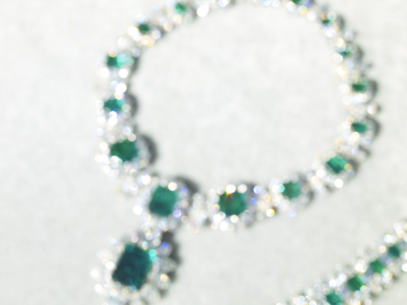 Catherine Opie – The Emeralds, from 700 Nimes Road, Elizabeth Taylor's home