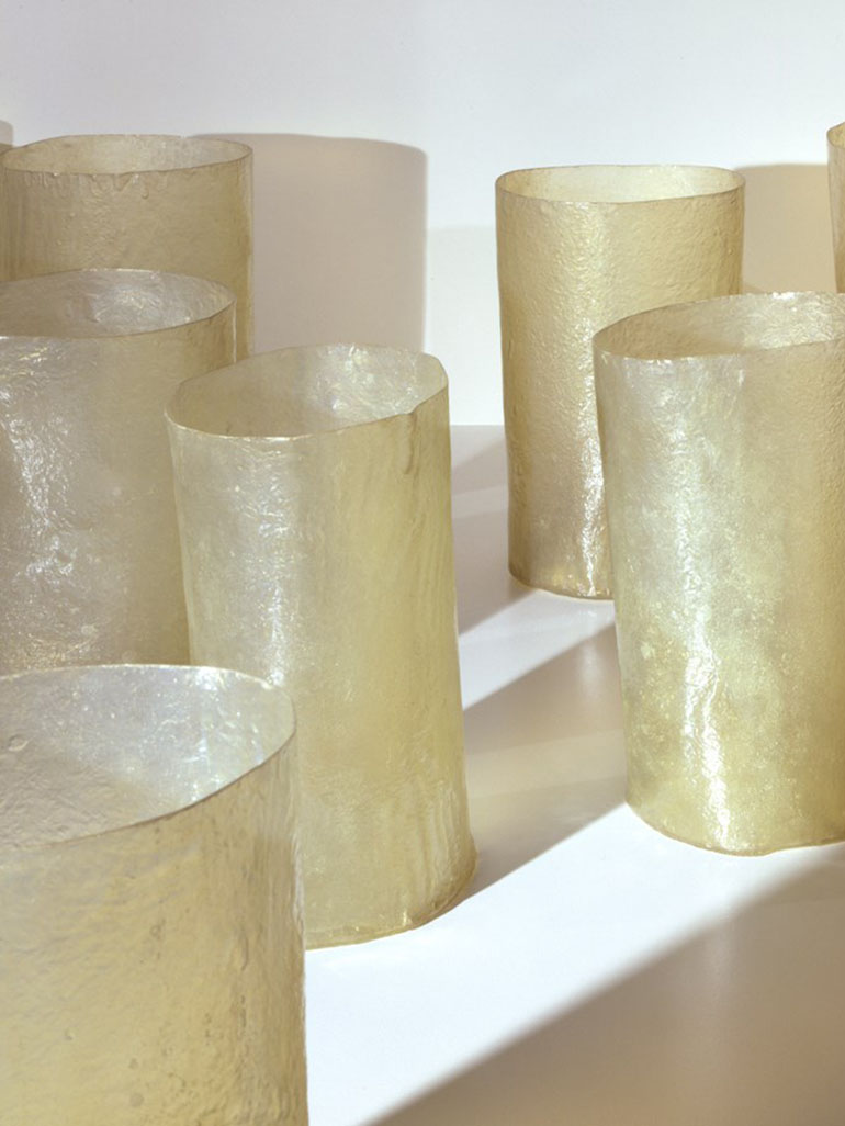 Why did Eva Hesse create her Repetition Nineteen III?