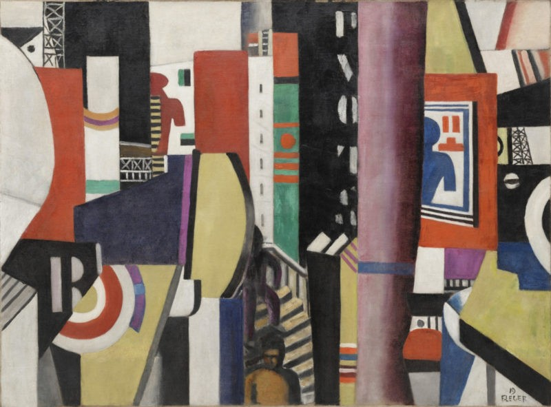 Fernand Léger - The City, 1919, oil on canvas, 96.8 x 130.5 cm (38 1/8 x 51 3/8 in)