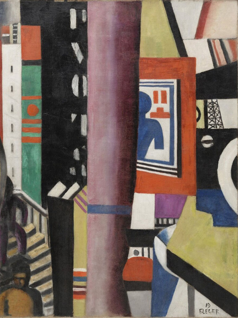 Fernand Léger's The city - The story behind this painting