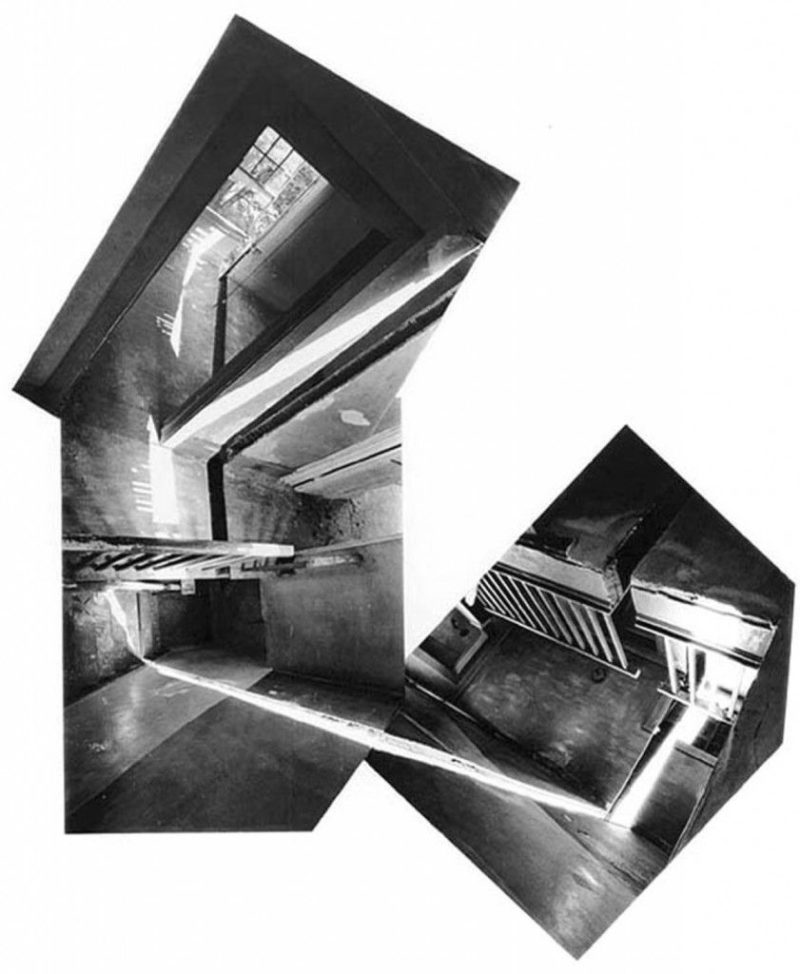 Gordon Matta-Clark - Splitting, 1974, Englewood, New Jersey