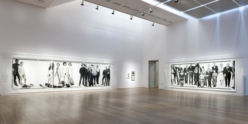 Installation view, Richard Avedon - Murals and Portraits, Museum Brandhorst, Muenchen, 2014, photo Haydar Koyupinar:museum-brandhorst.de