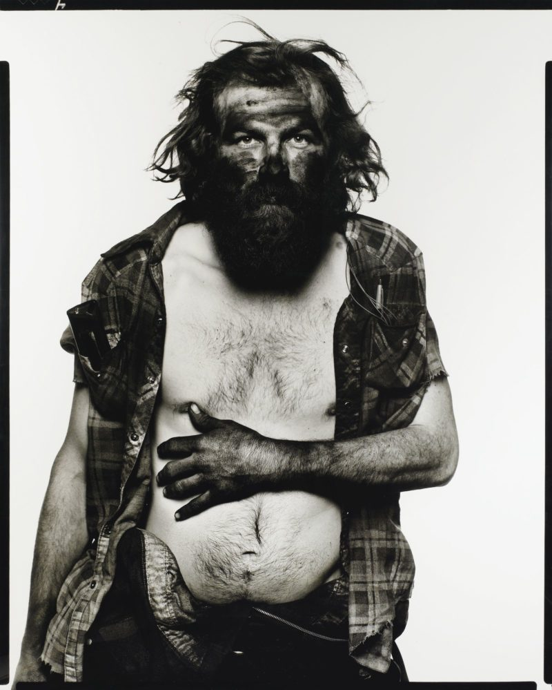 Richard Avedon - Edward Roop Coal Miner Paonia Colorado 12:10:79, from American West ,1985