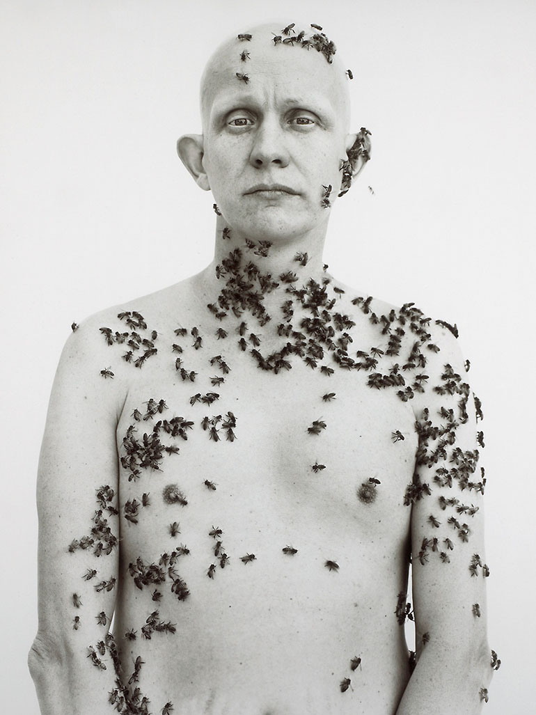 Richard Avedon's famous beekeeper portrait - The story behind
