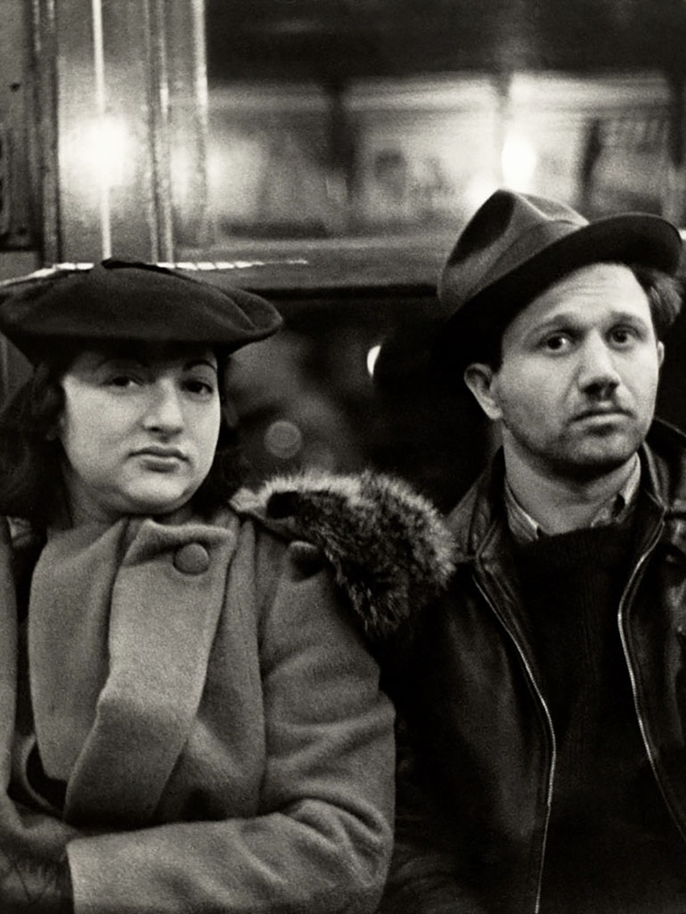 Photographer Walker Evans in the Subway - Many Are Called
