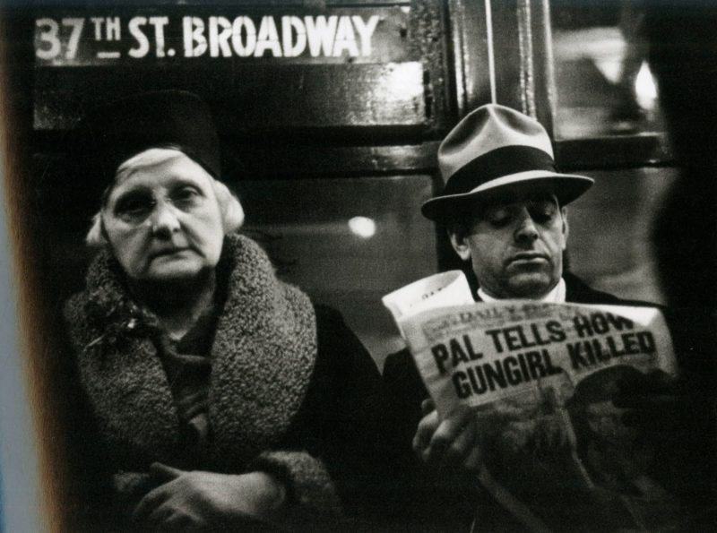 Walker Evans – Subway Passengers, New York City, from Many Are Called