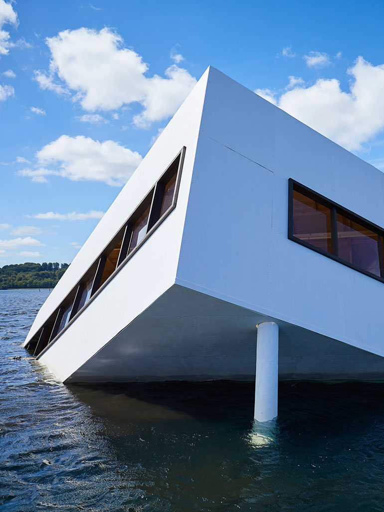 Le Corbusier's most famous house drowned