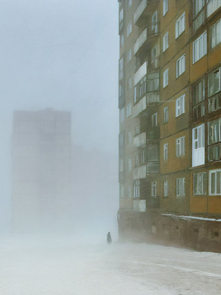 Christophe Jacrot in Norilsk, Russia's most polluted city
