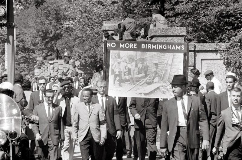 Congress of Racial Equality and members of the All Souls Church, Unitarian l