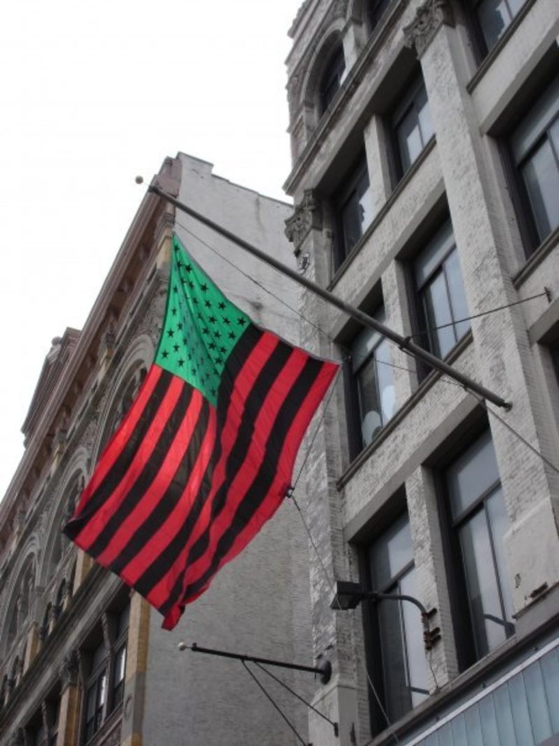 David Hammons – African-American Flag, 1990, The Studio Museum in Harlem