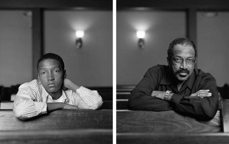 Dawoud Bey - The Birmingham Project - Braxton McKinney and Lavon Thomas, 2012