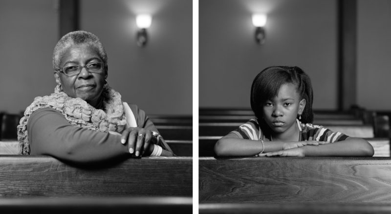 Dawoud Bey - The Birmingham Project - Mary Parker and Caela Cowan, 2012
