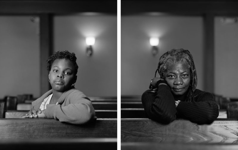 Dawoud Bey - The Birmingham Project - Mathis Menefee and Cassandra Griffin, 2012