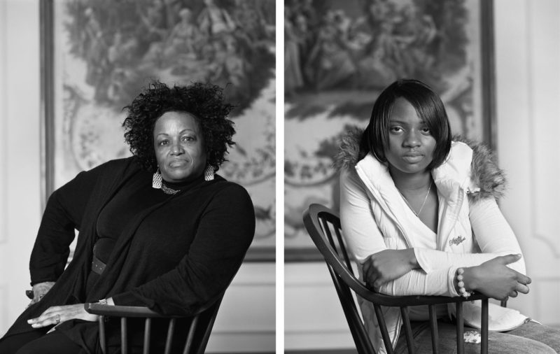 Dawoud Bey - The Birmingham Project - Maxine Adams and Amelia Maxwell, 2012