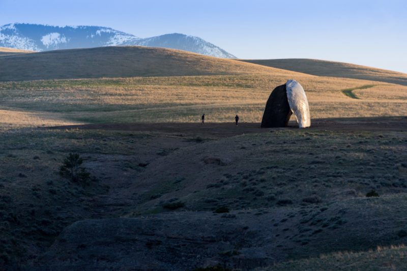 Ensamble Studio - Beartooth, Structures of Landscape, Tippet Rise Art Center, Fishtail, Montana, 2015, Iwan Baan.