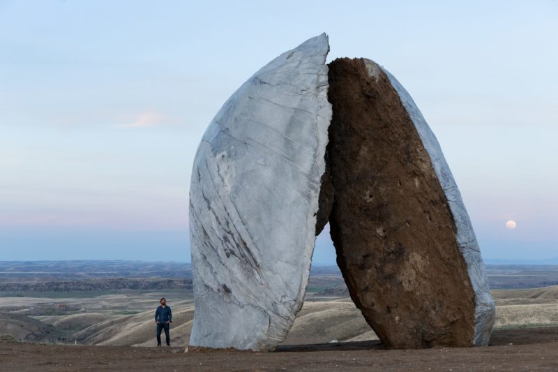 Ensamble Studio - Beartooth, Structures of Landscape, Tippet Rise Art Center, Fishtail, Montana, 2015, Iwan Baan