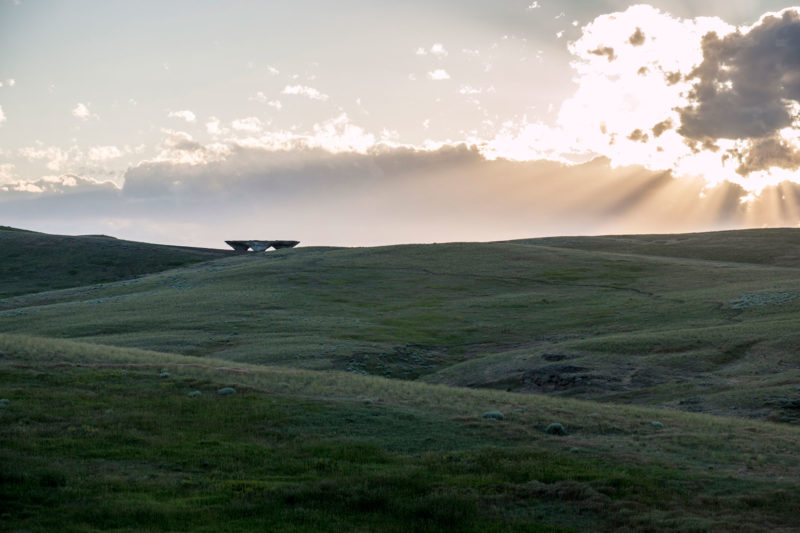 Ensamble Studio - Domo, Structures of Landscape, Tippet Rise Art Center, Fishtail, Montana, 2015