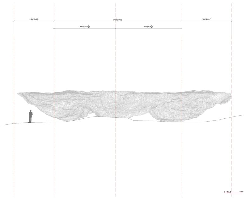 Ensamble Studio - Domo, Structures of Landscape, Tippet Rise Art Center, Fishtail, Montana, 2015 plan