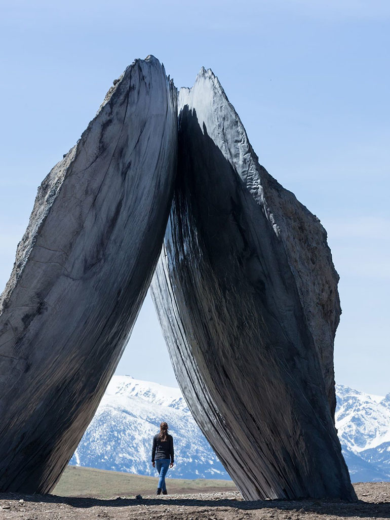 Architecture Studio Ensamble & their weird & impressive sculptures
