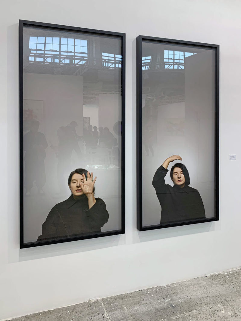 Marina Abramovic - Ecstasy II (A) (from the series With Eyes Closed I See Happiness), 2012, Fine art pigment print, 180 x 80 cm, 70 7/8 x 31 1/2 in, Galerie Krinzinger