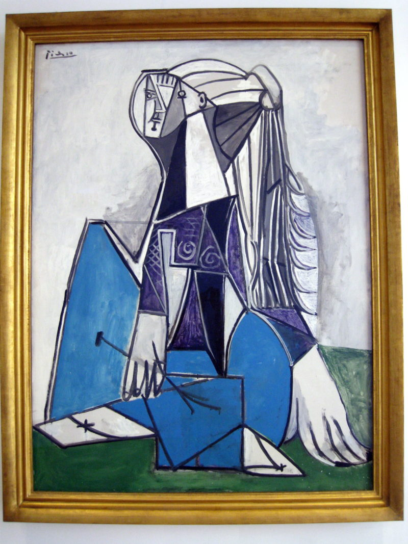 Pablo Picasso – Portrait of Sylvette David, 1954, oil on canvas. 130,7 x 97,2 cm, The Art Institute of Chicago