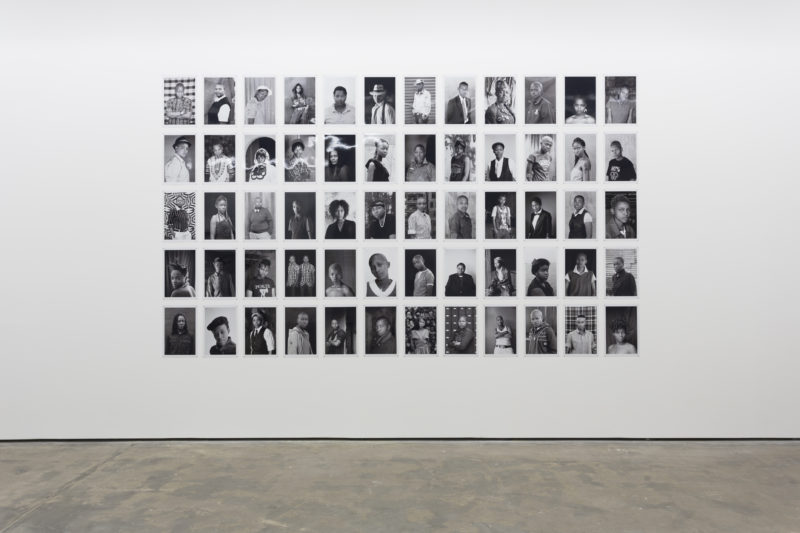 Zanele Muholi - Installation view, Faces and Phases, Wentrup, Berlin, 2014