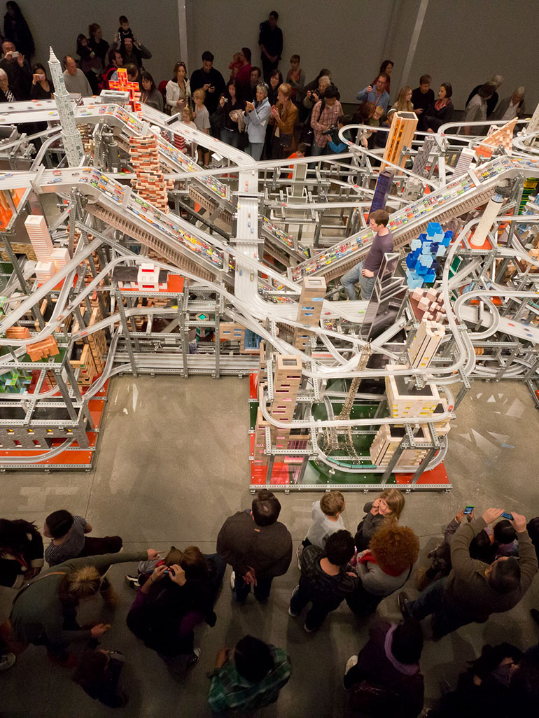 Chris Burden's Metropolis II - A work of wonder