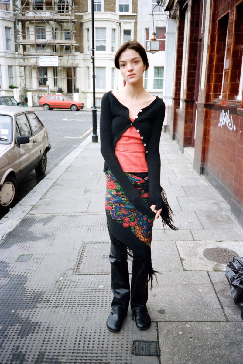 Juergen Teller - Mariacarla, London, 18th February 1999