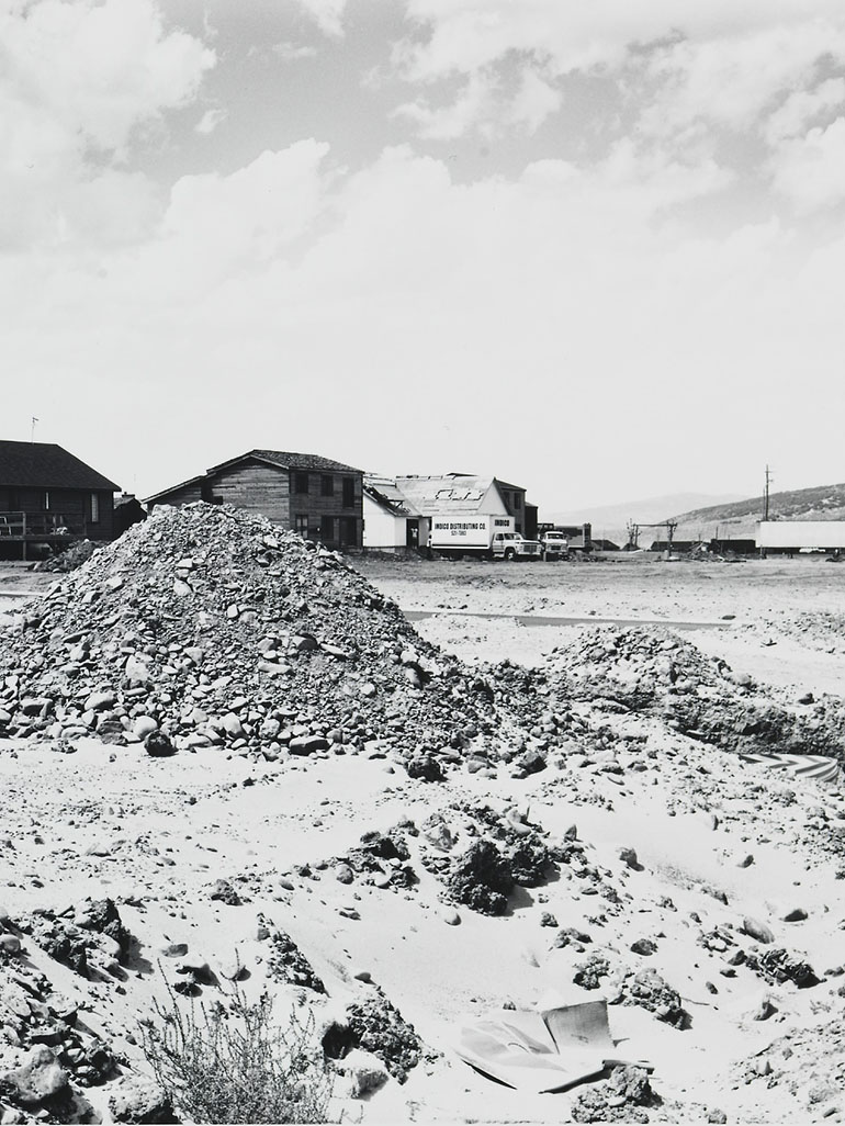 Lewis Baltz's Park City - Criticism of 1970s real estate growth