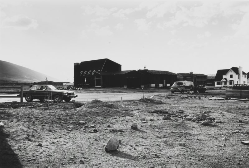 Lewis Baltz - Park City 36. Prospector Village, Lot 65, looking Northwest, 1979