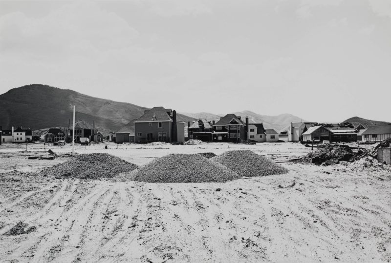 Lewis Baltz - Prospector Park, Subdivision Phase III, looking West, from Park City, 1979