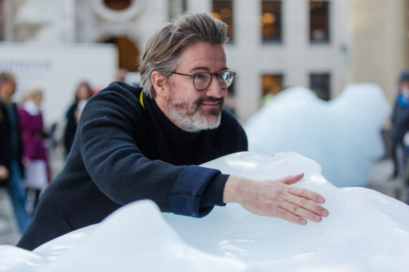 Olafur Eliasson - Ice Watch, 2018