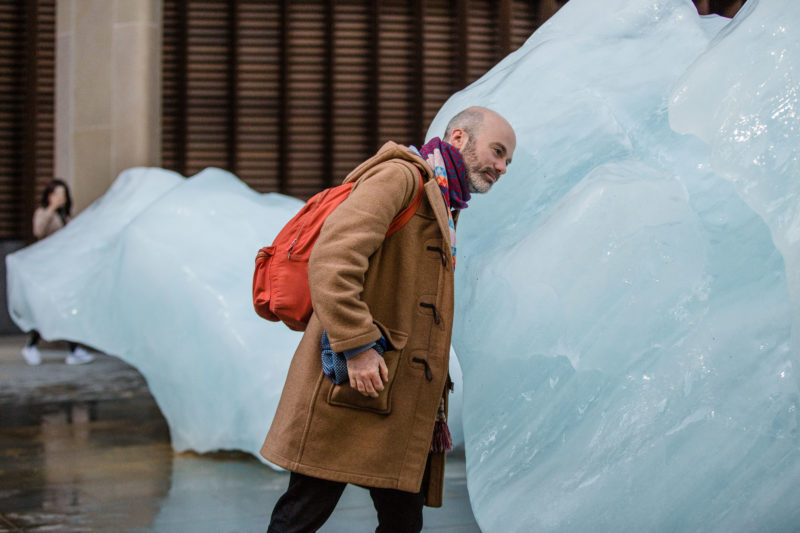 Olafur Eliasson - Ice Watch, 2018, Bankside, outside Bloomberg's European headquarters, London