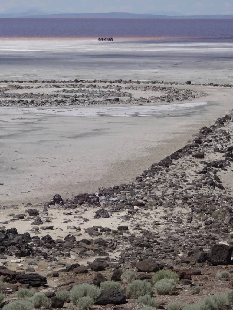 Robert Smithson - Spiral Jetty