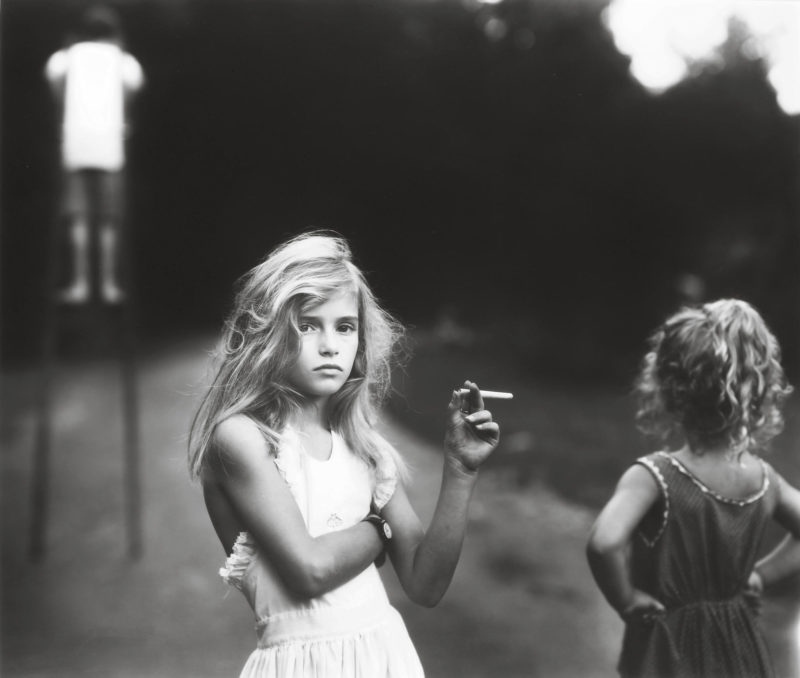 Sally Mann - Candy Cigarette, 1989, from Immediate Family