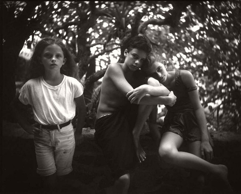 Sally Mann - Emmett, Jessie and Virginia, 1994, from Immediate Family