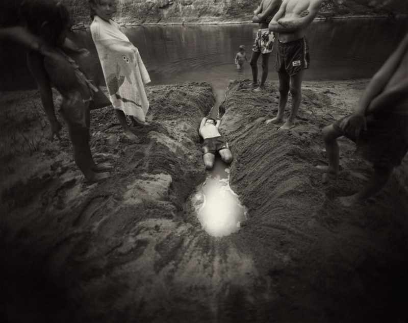 Sally Mann - The Ditch, 1987, from Immediate Family