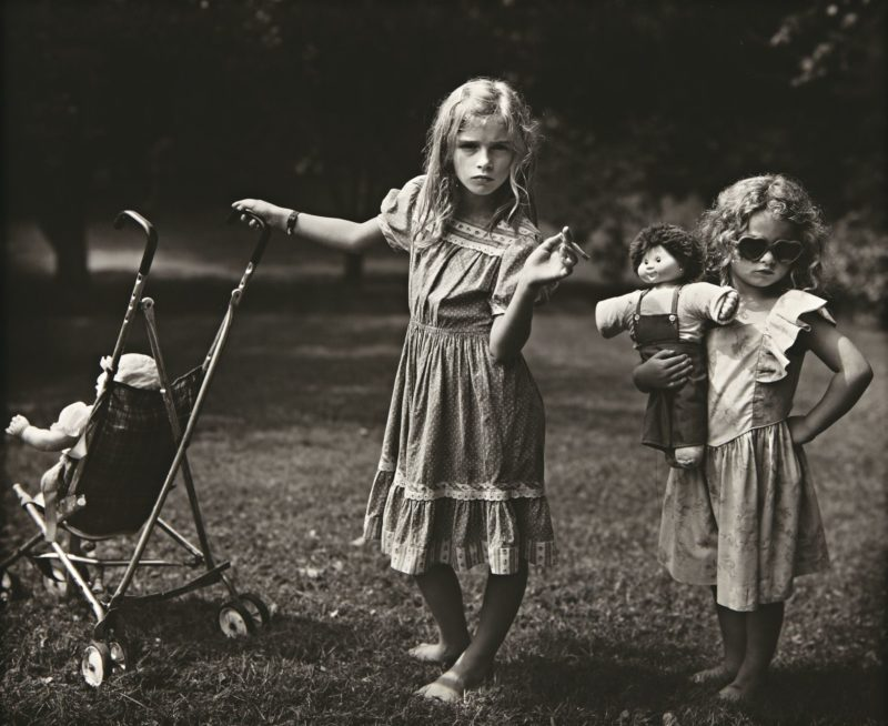 Sally Mann - The New Mothers, 1989, from Immediate Family