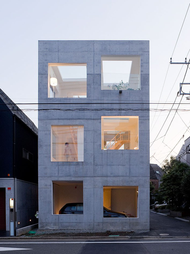 Sou Fujimoto's House H - A reflection of modern Japan