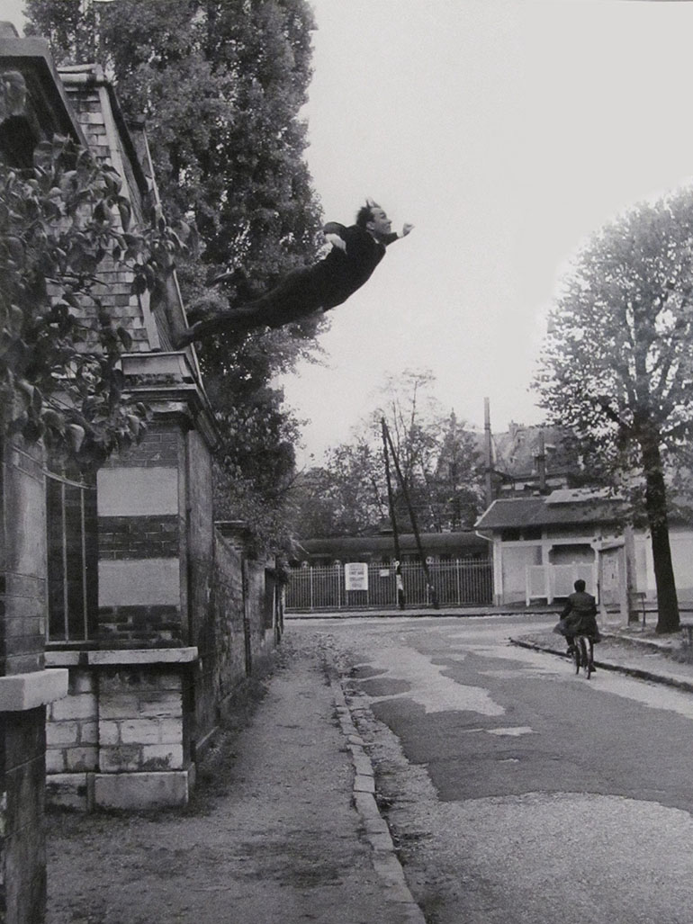 Why did Yves Klein take a Leap into the Void?