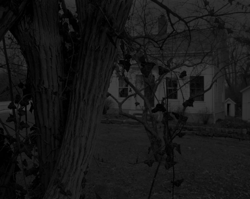 Dawoud Bey - Untitled #22 (Farmhouse), from the series Night Coming Tenderly, Black, 2017