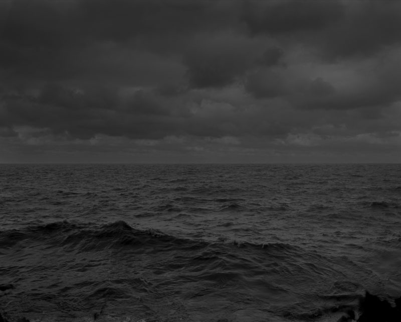 Dawoud Bey - Untitled #25 (Lake Erie and Sky), from the series Night Coming Tenderly, Black, 2017