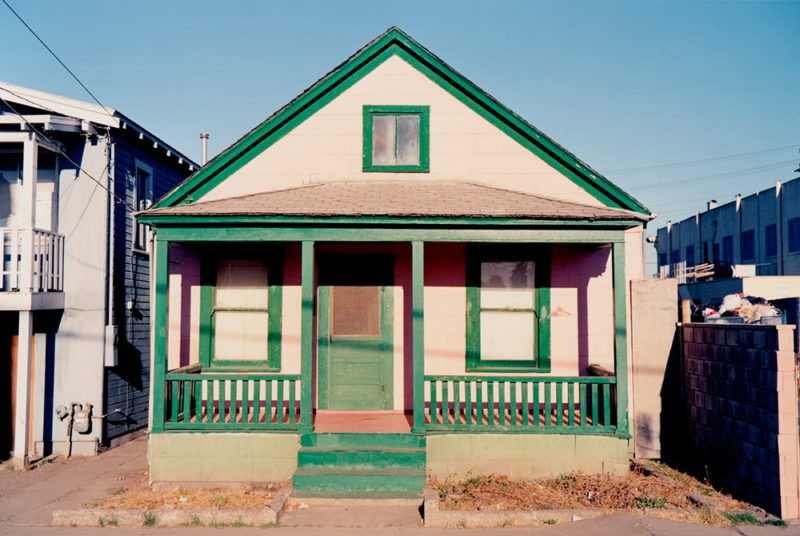 Henry Wessel - No. 90467, 1990, from House Pictures
