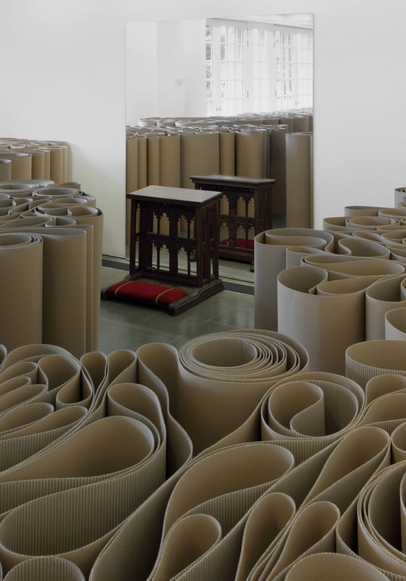 Michelangelo Pistoletto - Installation view, The Mirror of Judgement, Serpentine Gallery, London (12 July – 17 September 2011)