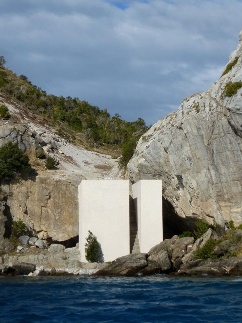 Not Vital's remote house in Patagonia, Chile